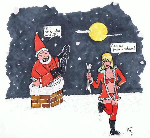 Mère Noël 2012-Batblues