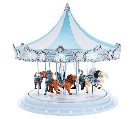 Carrousel musical miniature Mr Christmas 79151