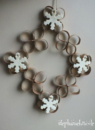 Decoration de noel a faire soi meme en papier - Idee de decoration de noel a faire soi meme ...