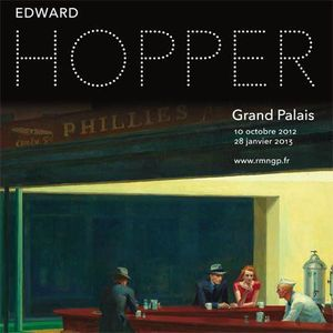 Edward Hopper, Affiche Expo Grand Palais