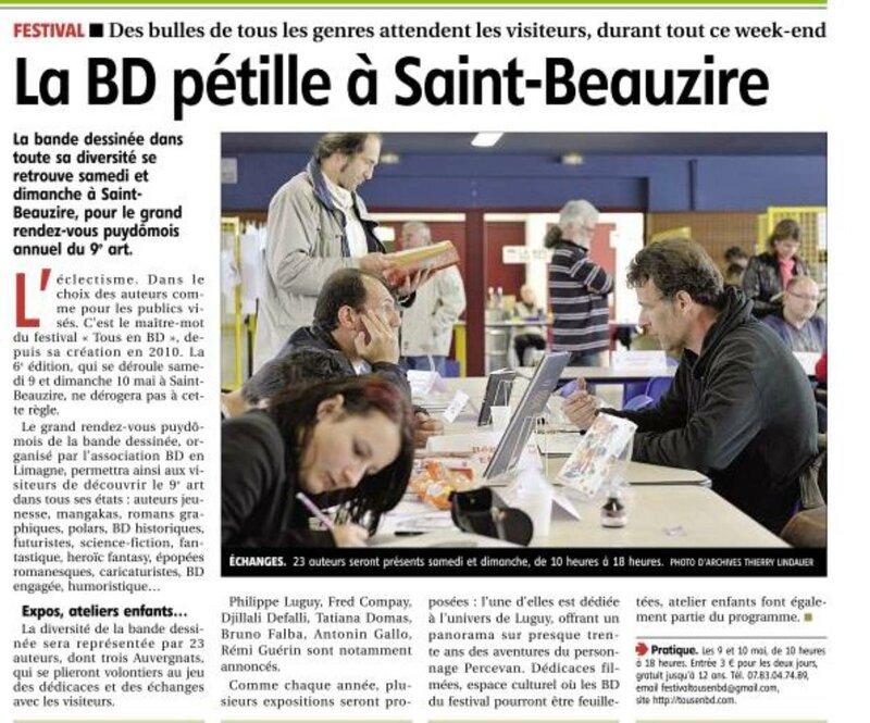 Journal La Montagne 07 05 2015