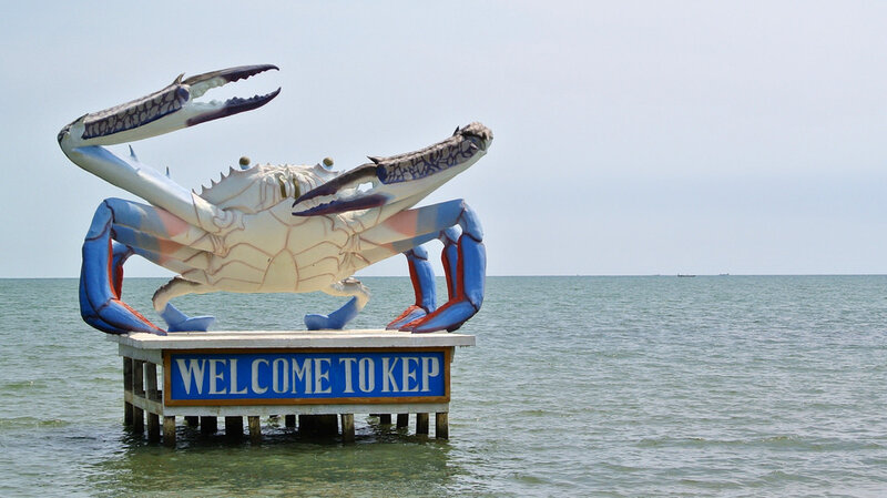 Welcome crab Kep