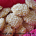 Biscuits rhum-sucre en grains