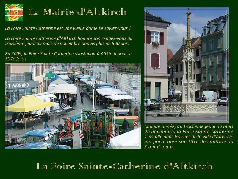 Altkirch Foire Ste Catheine