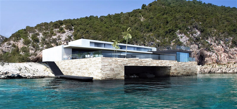 Maison contemporaine CANNES bord de mer