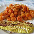 Filet de cabillaud mariné citron curry