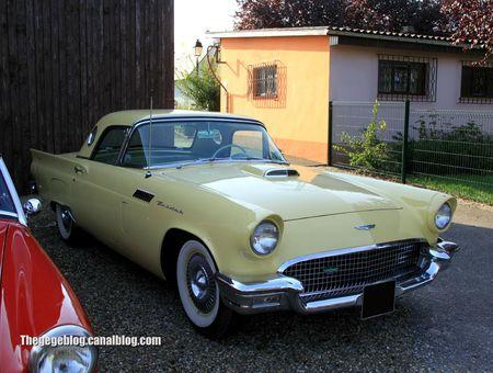 Ford thunderbird 2door hardtop convertible de 1957 (30 ème Bourse d'échanges de Lipsheim) 01
