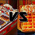Gaufre liégeoise vs gaufre bruxelloise