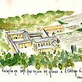 Abbaye de Sénanque....sans les lavandes
