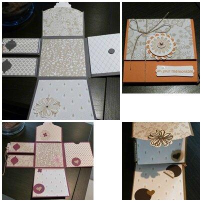 mini album stampin up atelier