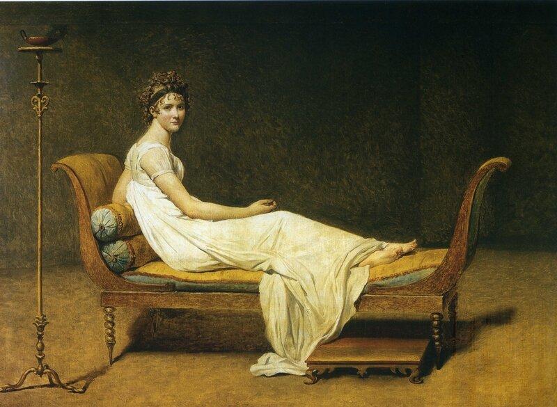 David Madame Récamier 1800