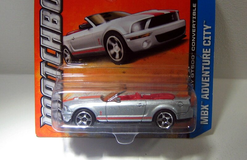 Shelby GT 500 convertible (Matchbox)