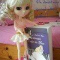 Blonddine et la couverture du livre