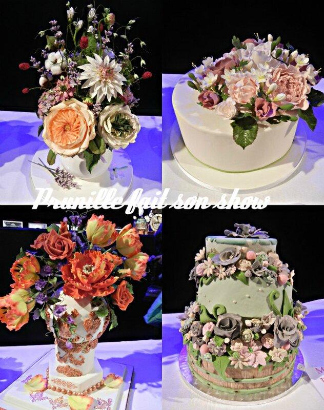 collage les fleurs
