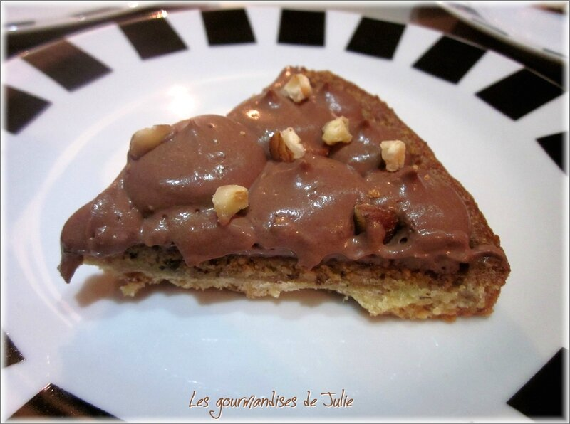 tarte choco-noisettes 2