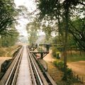 Kanchanaburi Pont de la rivière Kwaï