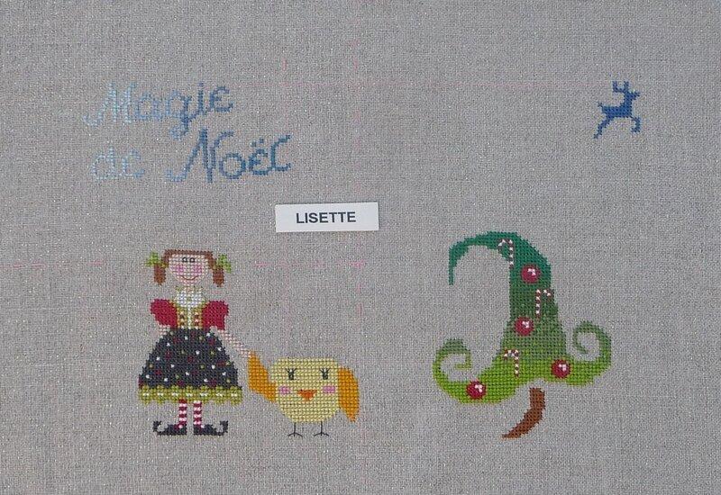 sylvie Lisette étape 3