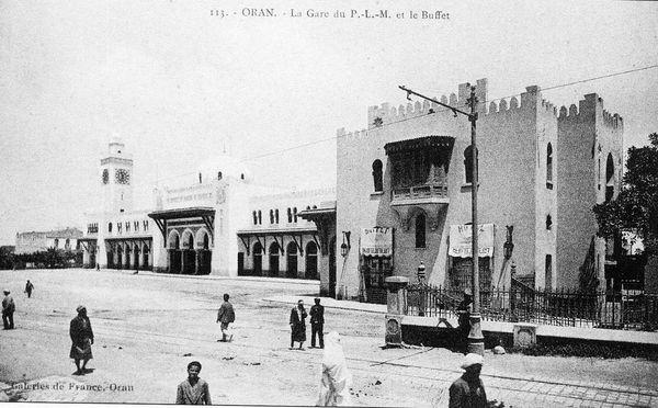 Oran- La gare PLM 28