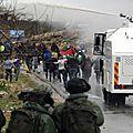 L'eau sale d'israël, arme punitive anti-manifestants