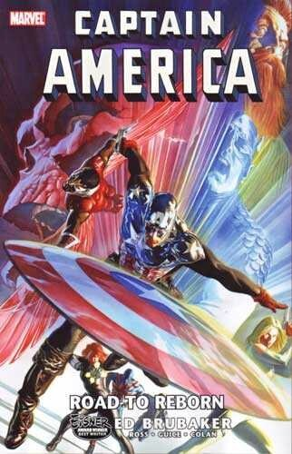 captain america road to reborn HC