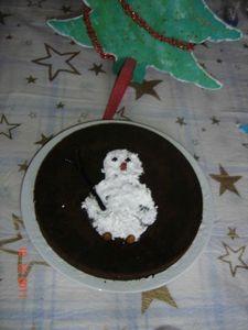 gateau bonhomme de neige 6 ans mattheo