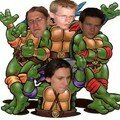 Teenage mutant ninja troudballes