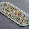 P1130547marque page jaune orangé modèle stéfanyb