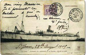 Transport la loire 1905