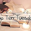 Top ten tuesday # 66