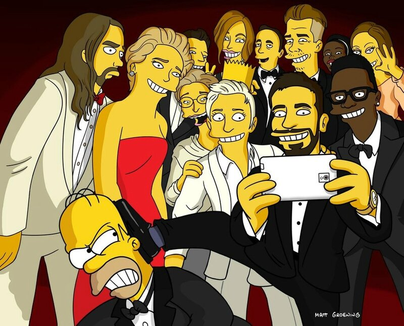 oscars-selfie-gets-a-simpsons-parody-and-more1-
