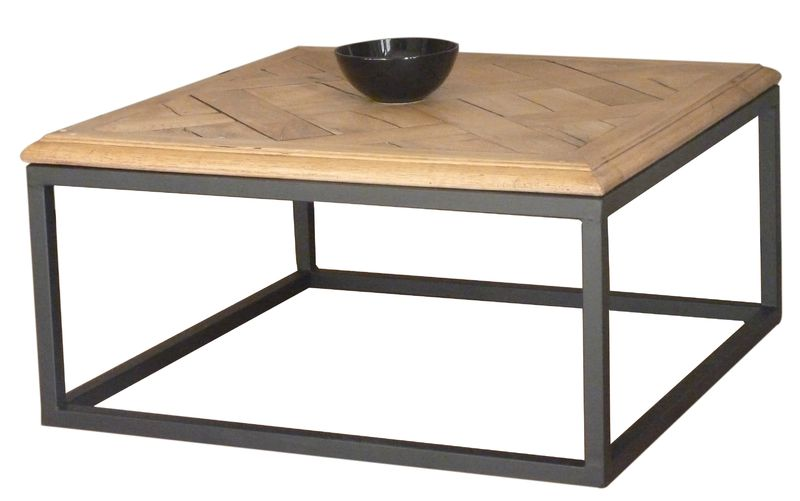 Ma table basse industrielle au 42 home for Table basse carree industrielle