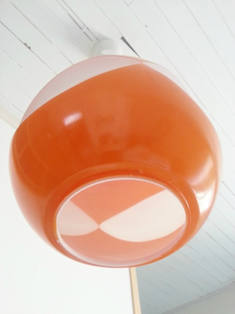 luminaire vintage orange. Black Bedroom Furniture Sets. Home Design Ideas