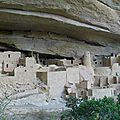 Cliff palace - colorado (etats-unis)