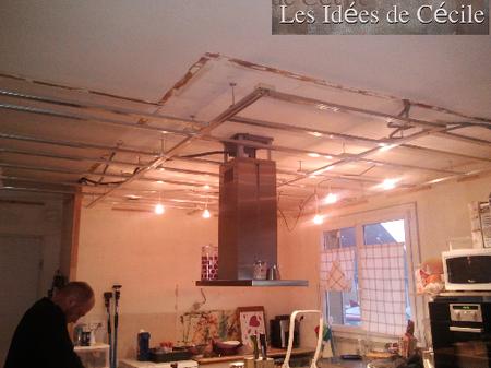 Plafond de la cuisine mam 39 coupiq - Idee faux plafond ...