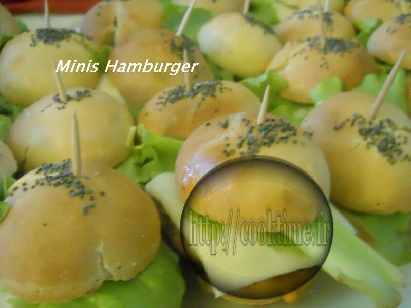 minis hamburger Thermomix