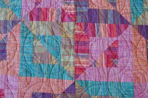 patchwork courtepointe