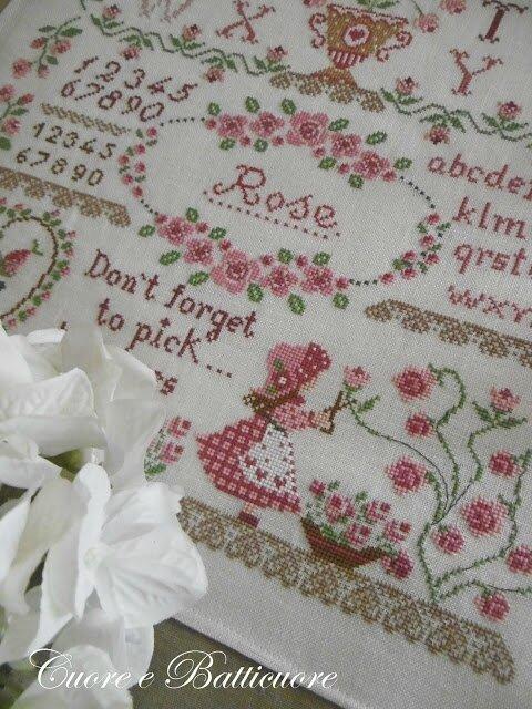 rose sampler 5