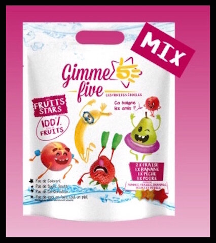 gimme five fruits stars mix