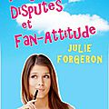 Plage, dispute et fan-attitude, julie forgeron