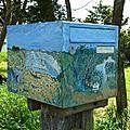 Boîte aux lettres marais