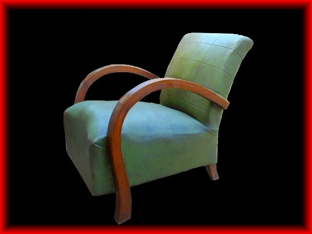 fauteuil art deco 1925 vendu meubles d co vintage design scandinave. Black Bedroom Furniture Sets. Home Design Ideas
