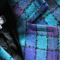 2344/ vintage 1990 tailleur yves saint laurent taille 38