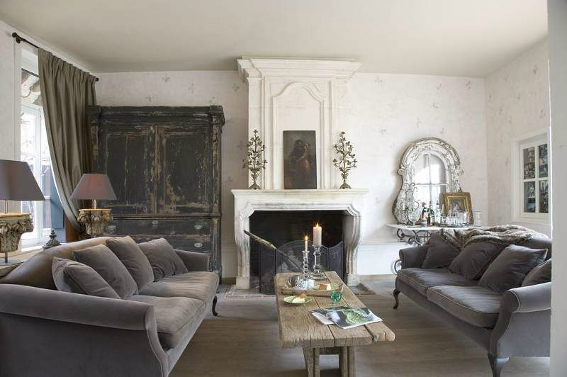 amazing shabby campagne chic with deco salon campagne chic