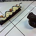 Tartelette chocolat blanc et noir3