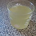 Citronade orange citron