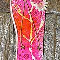 Carte tong pour le challenge camping de la malle aux fleurs
