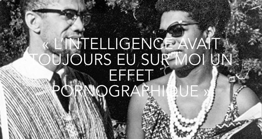 « L'intelligence avait toujours eu sur moi un effet pornographique », un dossier des Glorieuses