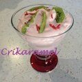 Mousse de fraises au cook'in