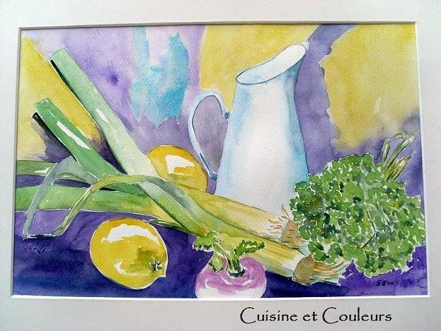 Purple food pomme cuite farcie au chou rouge cuisine for Couleur complementaire du violet
