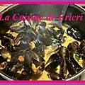 Moules au curry